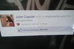 Enlace a Romeo y Julieta, relaciones complicadas