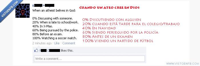 ateos,colegio,Dios,fútbol,navidad,religión,trabajo