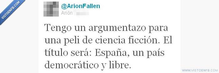argumento,democracia,España,ley,sinde