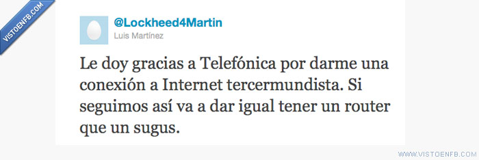 Internet,Router,Telefónica,Twitter
