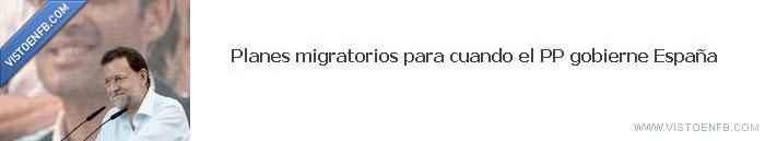 españa,planes migratorios,pp
