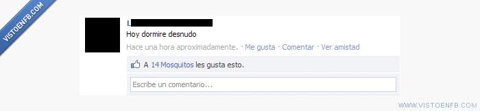facebook,me gusta,mosquitos