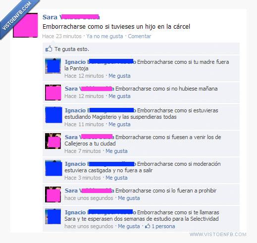 alcohol,emborracharse,estado,facebook,fb