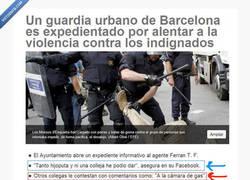 Enlace a Conversación de los Mossos tras los incidentes de Barcelona