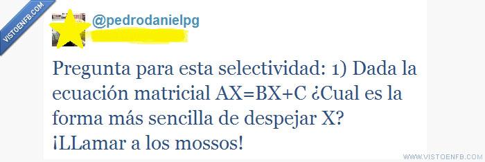 despejar,ecuación,matemáticas,mossos