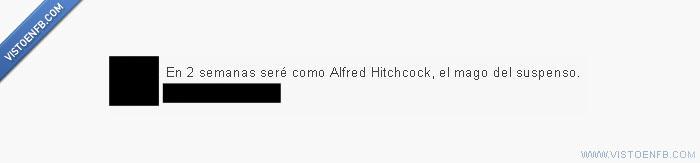 Alfred Hitchcock,curso,exámenes,Mago,supenso