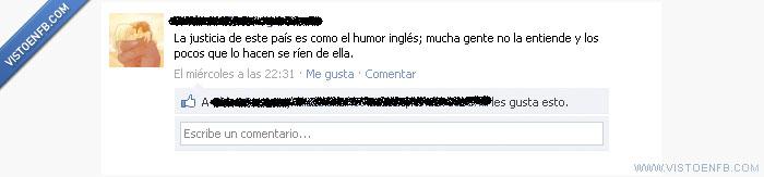 humor inglés,justia,¿definición?
