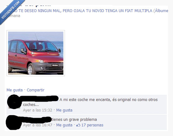 coche,fiat multipla,gusto,horror