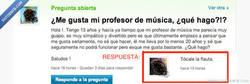 Enlace a Enamorada del profesor de música