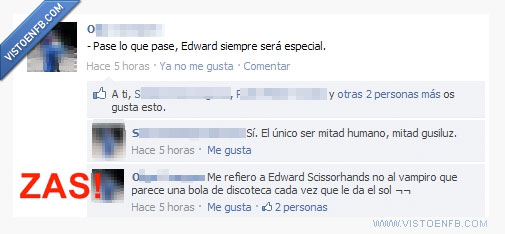 Crepúsculo,Edward,Scissorhands,ZAS