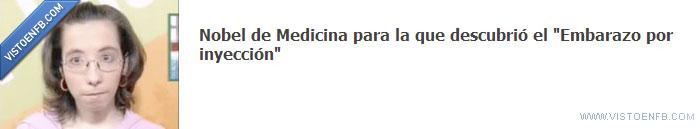 Embarazo,inyección,medicina,Nobel