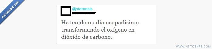 dióxido de carbono,oxígeno,twitter