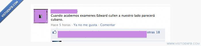 cubano,Cullen,exámenes