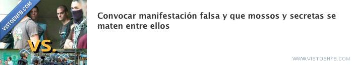 mossos,pelea,secretas