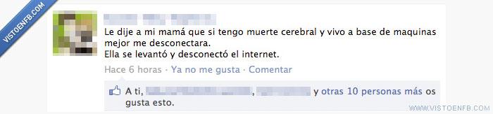 internet,madres,máquina