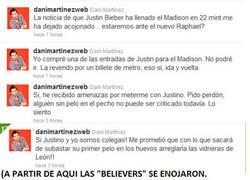 Enlace a Dani Martínez vs Justin Bieber
