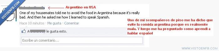 americano,argentino,comida,fail