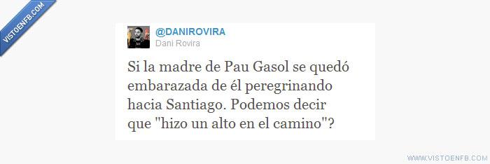 camino santiago,dani rovira,pau gasol,twitter