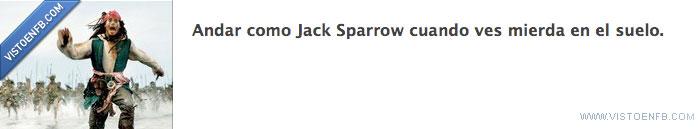 andar,Jack Sparrow