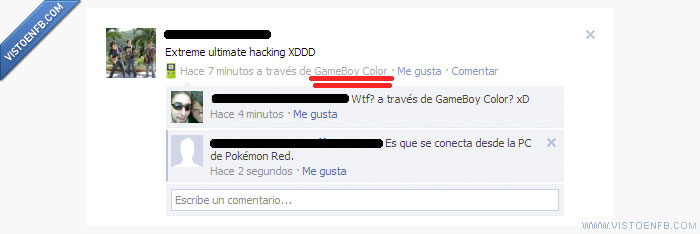 facebook,Game Boy Color,hack,nerd,pc,pokémon,red