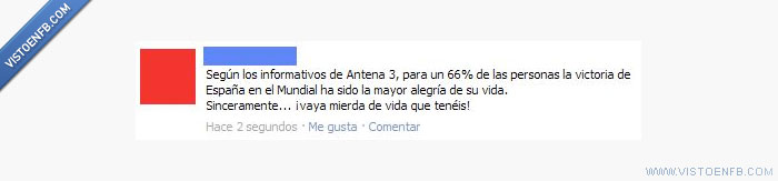 antena 3,facebook,mundial