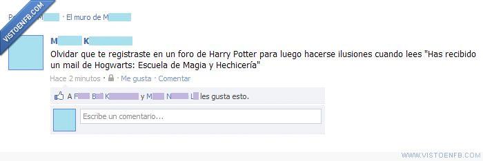 email,facebook,foro,friki,harry potter,hogwarts,los magos se modernizan