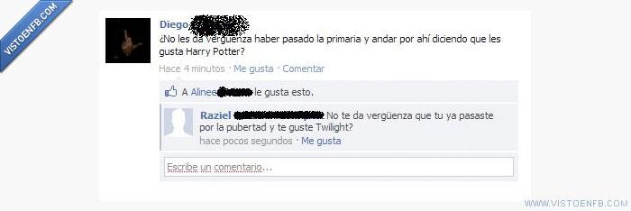 Harry Potter,Twilight