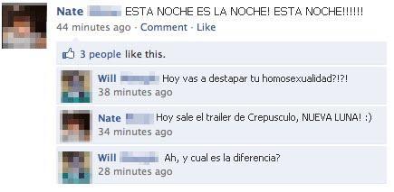 crepusculo,diferencia,facebook,homosexualidad,noche