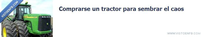 caos,comprar,facebook,sembrar,tractor