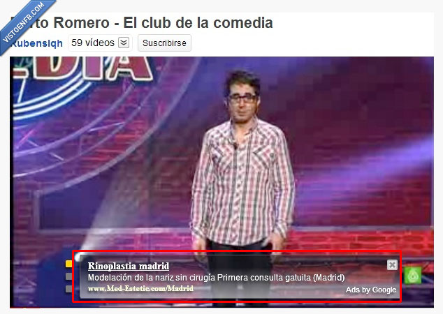 berto romero,buenafuente,fail,rinoplastia,youtube.es