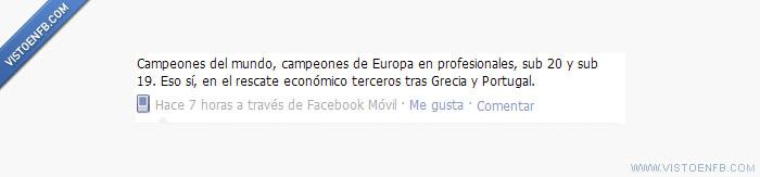 Economía española,Fútbol español