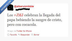 Enlace a Botellón JMJ