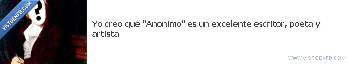 anonimo,poeta