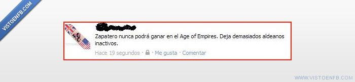 Age of Empires,Aldeanos,Zapatero