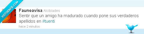 @faunoavisa,amigo,madurar,tuenti,twitter