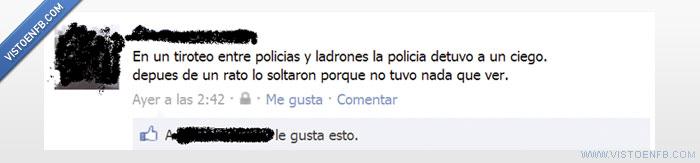 ciego,facebook,fb,ladron,policia