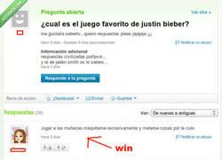Enlace a Gustos de Bieber