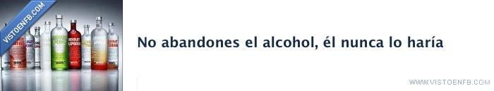 abandonar,alcohol