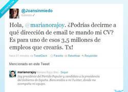 Enlace a Currículum a Mariano, qué bueno que ya estás en twitter