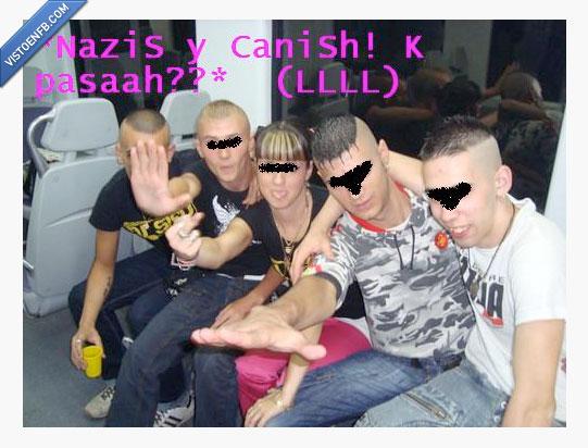 Canis,Nazis,tren
