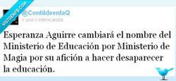 Enlace a ¿Ministerio de Educación? Ministerio de Magia