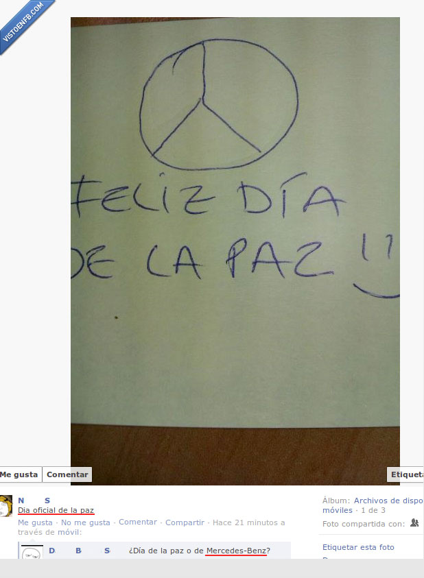 facebook,mercedes-benz,paz,retard,tonta