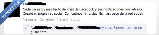 casino,facebook,red social