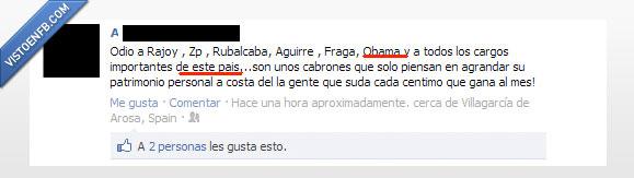cultura,españoles,facebook,política
