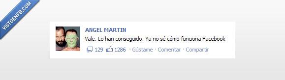 angel martín,facebook,funcionar,nuevo