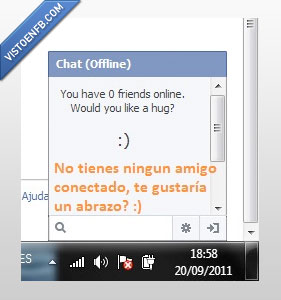 chat,compasión,forever alone