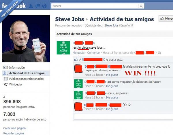 bad english,facebook,fail,jobs,paz,piece,piezas,steve,win