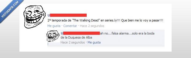 alba,boda,duquesa,walking dead