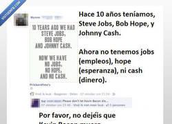 Enlace a No dejéis que Kevin Bacon muera