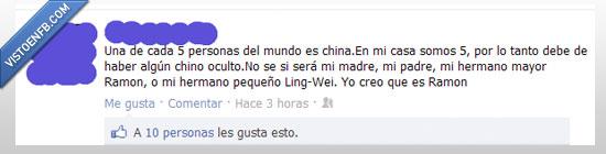 chino,hermano,mundo